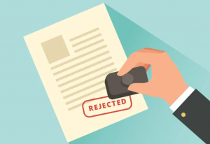 Reason for resume rejection
